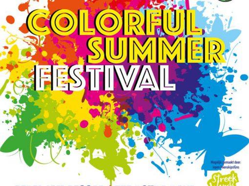 Colorful Summer Festival